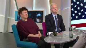 Aamu-tv:n keskustelu Yhdysvaltain pommilähetyksistä