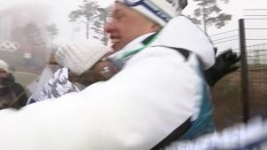 Korean olympialaiset: Iivo Niskanen kohtasi perheensä voiton jälkeen