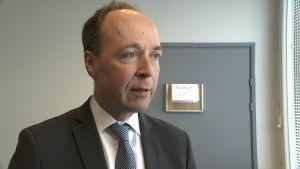 Perussuomalaisten puheenjohtaja Jussi Halla-aho kommentoi hallituksen eroa