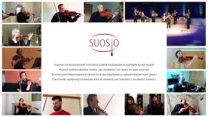 Sinfoniaorkesterit soittavat Beethovenia koululaisille