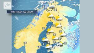 Rising temperatures in Lapland
