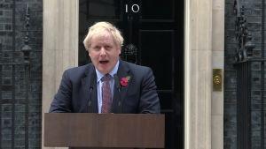 Boris Johnsonin kampanjalausunto