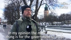 Voters in Turku speak out