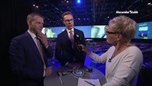 Alexander Stubb ja Petteri Orpo kommentoivat Stubbin häviötä EEP:n kärkiehdokaskisassa