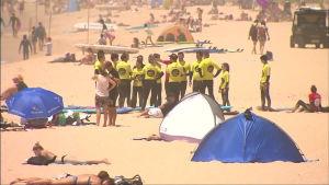 Australia kärvistelee ennätyshelteissä, elohopea hipoo 50 astetta