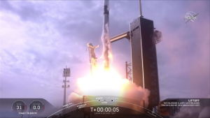 SpaceX:n testasi pelastusjärjestelmäänsä