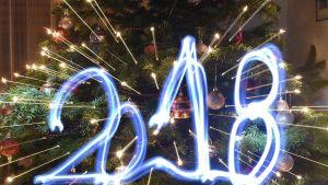 Vuosiluku 2018 kuvassa