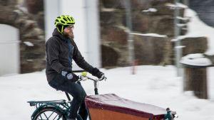 Puheenjohtaja Pasi Haapakorva, Oulun polkupyöräilijät ry.