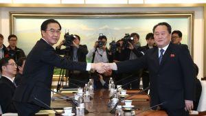 Koreat neuvottelivat tiistaina