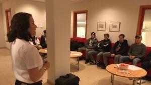 Danfoss rekrytoi kesätyöntekijöitä ammattioppilaitos Vamiassa.