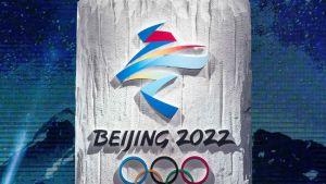 Pekingin vuoden 2022 talviolympiakisojen logo.