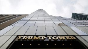 Trump-tower New Yorkissa.