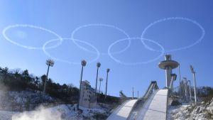 Alpensian talviurheilukeskus Daegwallyeongin kaupungissa Pyeongchangin piirikunnassa.