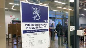 Presidentinvaalit 2018 ennakkoäänestys Imatralla