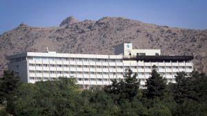 Intercontinental- hotelli Kabulissa.