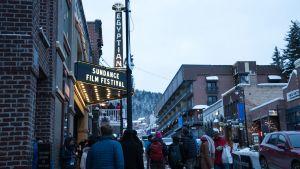 Egyptian Theatre on Sundance-festivaalin pääteatteri ja Park Cityn ensimmäinen elokuvateatteri.