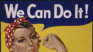 Rosie the Riveter -juliste.