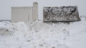 Kuopion lumensiirtopaikat alkavat täyttyä.