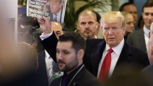 Trump Davosissa