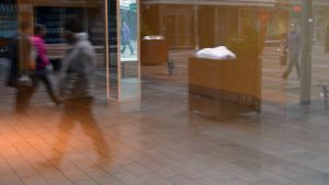 Oulun kävelykeskustassa on runsaasti tyhjiä liikehuoneistoja.