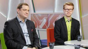 Kaarlo Simojoki ja Antti Hytti
