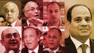 Egyptin presidenttikandidaatteja