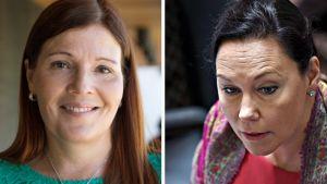 Sari Sarkomaa ja Anne-Mari Virolainen.