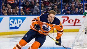 Edmonton Oilersin Connor McDavid