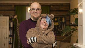 Kari Lappalainen ja Heidi Kykkänen elävät onnellisena kahdestaan.