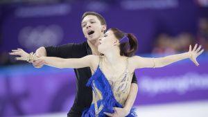Jekaterina Bobrova ja Dmitri Soloviev.