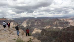 Näkymä West Rimin alueella Grand Canyonilla.