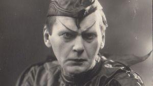 Näyttelijä Aarne Orjatsalo .Wilhelm Tell