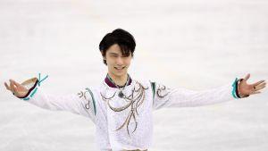 Yuzuru Hanyu.