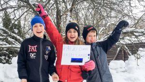 Perekond Ailio õnnitleb Eesti lapsi.