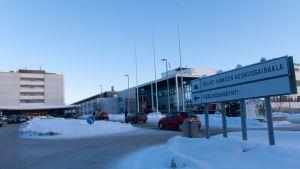 Päijät-Hämeen keskussairaala Lahdessa