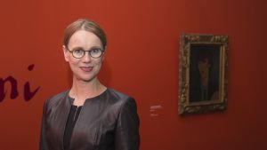 Ateneumin taidemuseon johtaja Susanna Pettersson