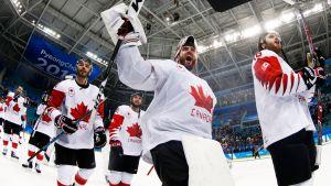Olympiapronssi maistui kanadalaisille.