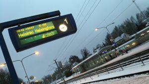Kuva juna-asemalta