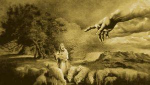 Kuvamanipulaatio, jonka pohjana käytetty Jehovan todistajien materiaalissa esiintyvää kuvaa.