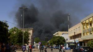 terrori-isku Burkina Fasossa