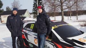 Markus Grönholm ja Niclas Grönholm.