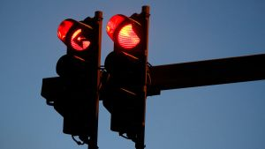 Punaiset liikennevalot