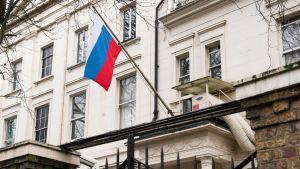 Venäjän suurlähetystö Lontoossa.