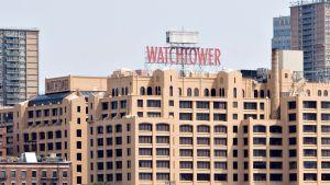 Jehovantodistajien pääkonttori Pensylvanian Brooklynissä.