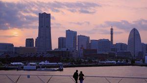 Yokohaman pilvenpiirtäjiä.