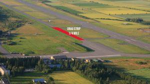 kauhavan lentokenttä ilmasta
