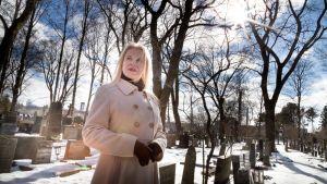 Elisa Morgan Hietaniemen hautausmaalla
