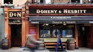 Irlantilainen pubi Dublinissa.