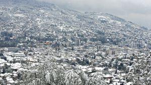 Näkymä Sarajevon kaupungista