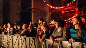 Yleisöä Tallinn Music Weekin avajaisissa viime vuonna.